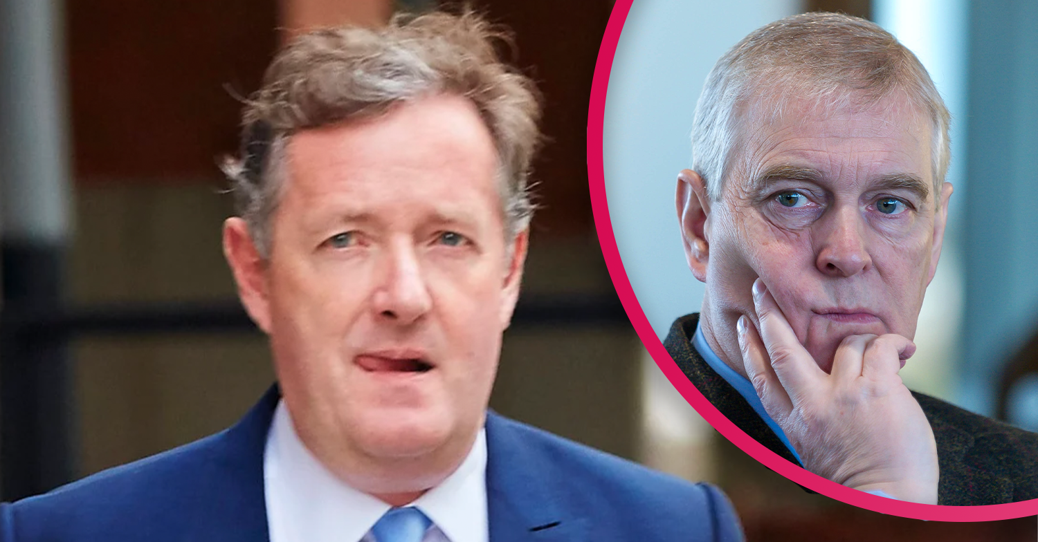 Piers Morgan issues message to Prince Andrew on Good Morning Britain