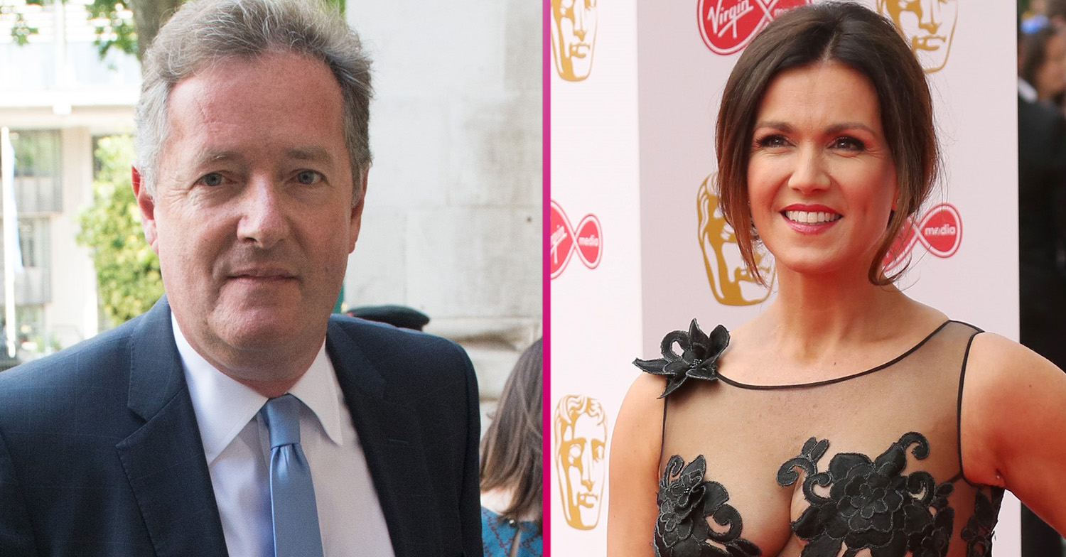 Piers Morgan and Susanna Reid show off new haircuts for the first time on Good Morning Britain