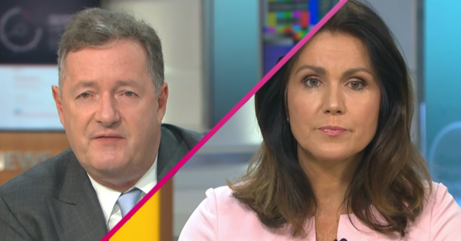 Piers Morgan and Susanna Reid announce summer break from GMB