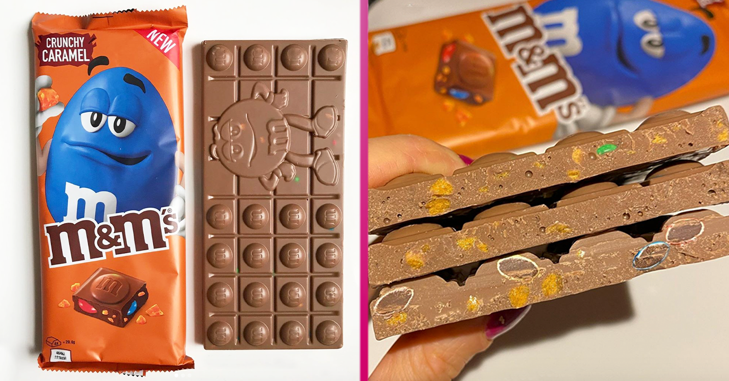 M&Ms is launching 'perfect' new Crunchy Caramel chocolate bar next week