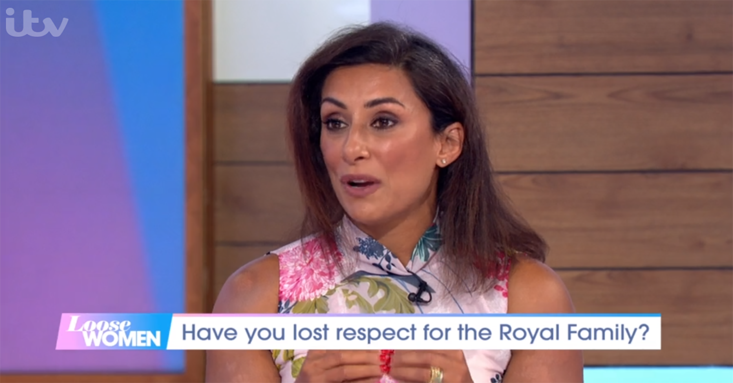 Saira Khan on Loose Women