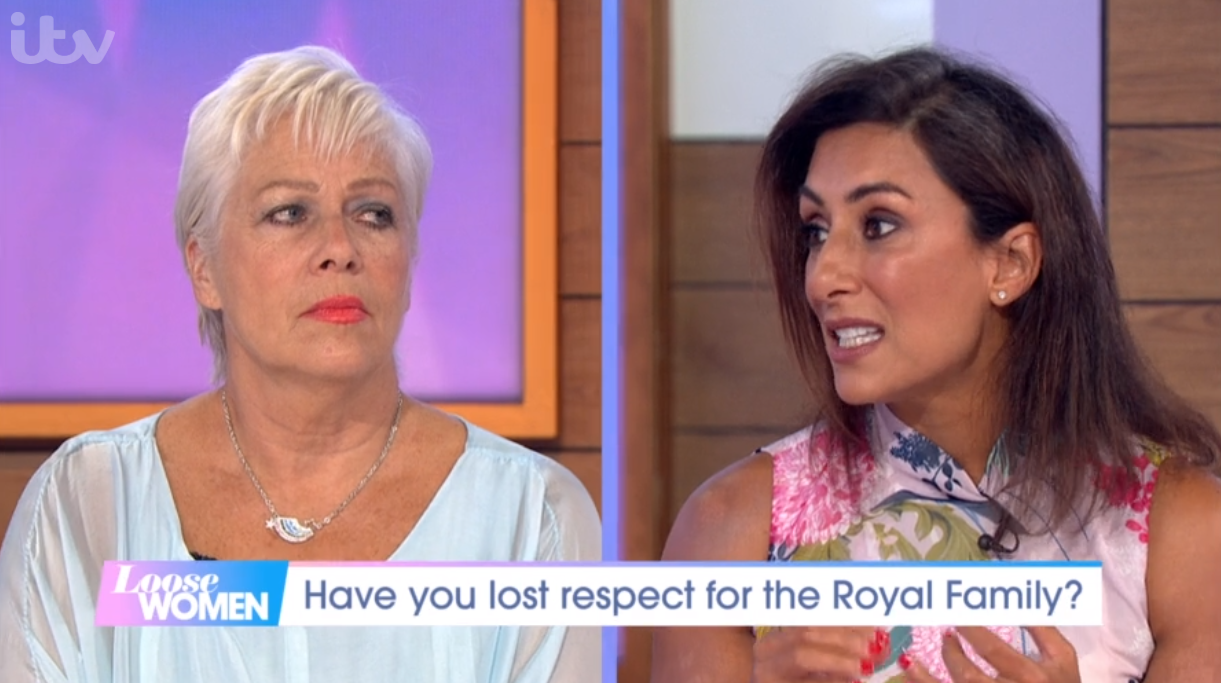 Denise Welch and Saira Khan on Loose Women