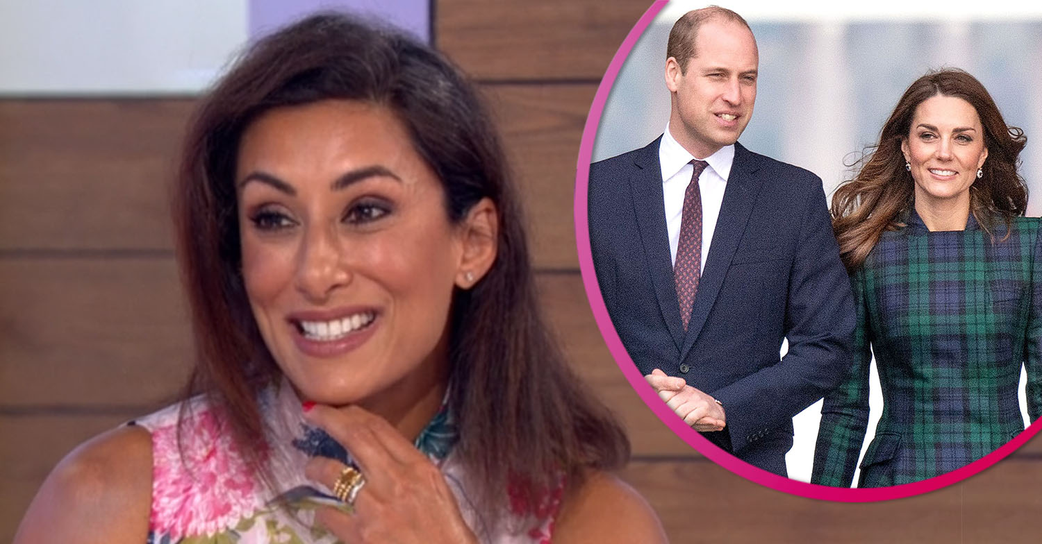 Saira Khan claims William and Kate are 'saviours' of the royal family amid Prince Andrew scandal