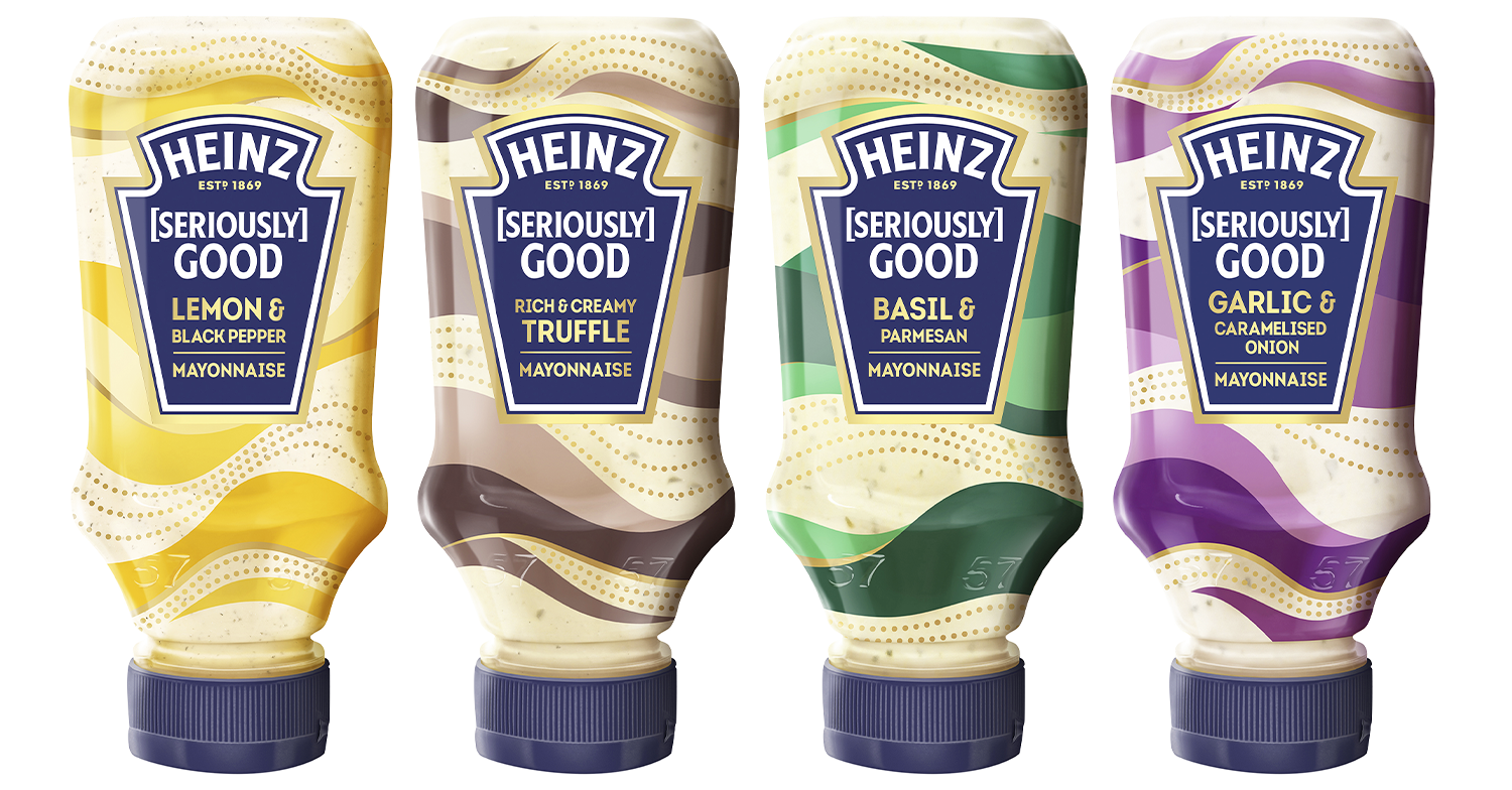 Mayonnaise just got an upgrade thanks to the launch of four new flavoured varieties by Heinz