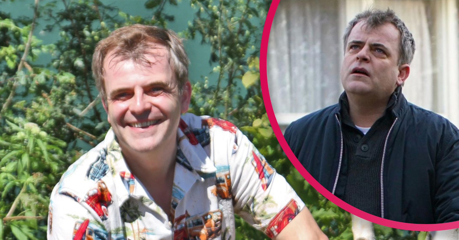 Coronation Street's Simon Gregson spends quality time with dad welding