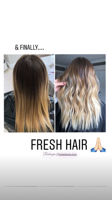 Kate Ferdinand hair