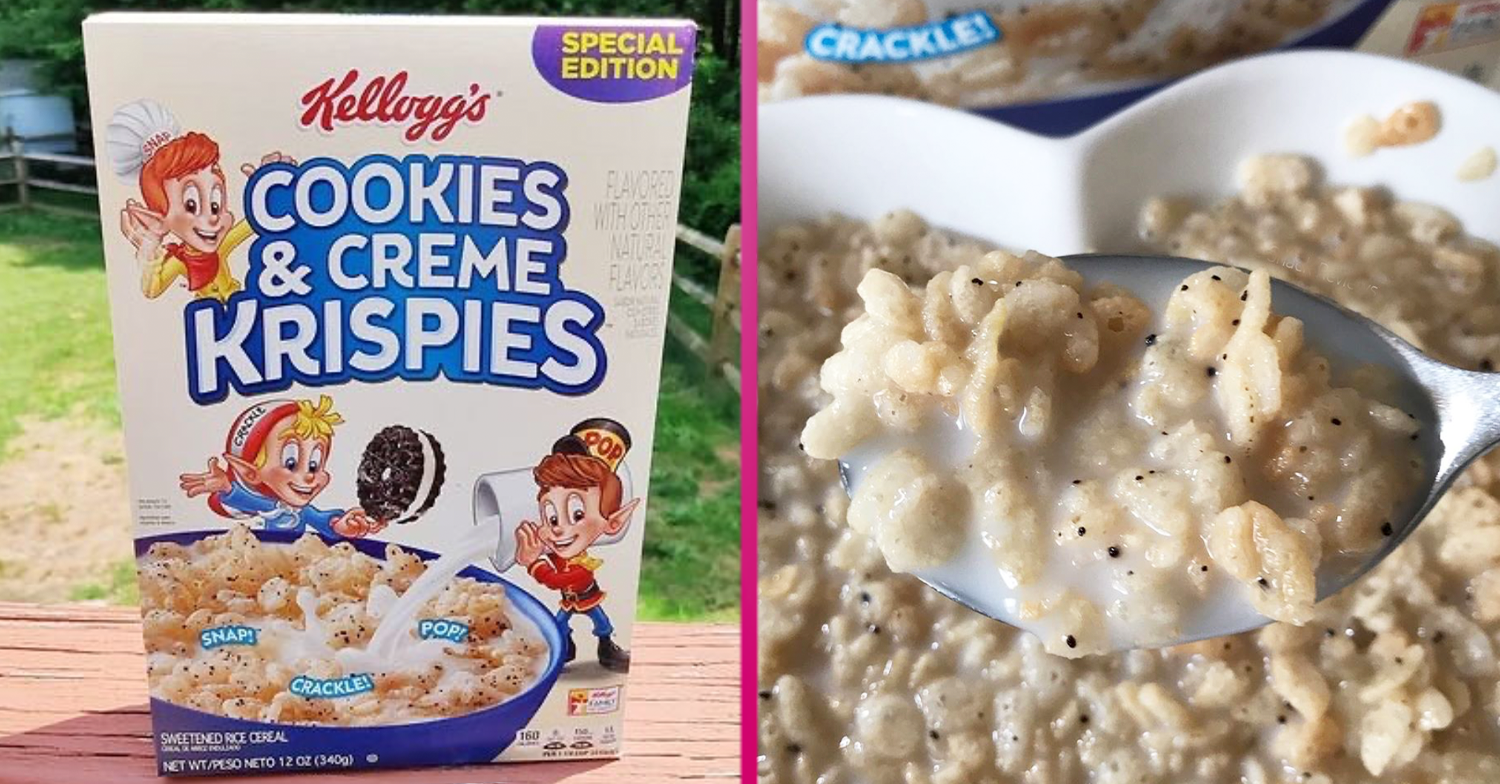 Rice Krispies fans can't wait to try new Cookies & Creme flavour