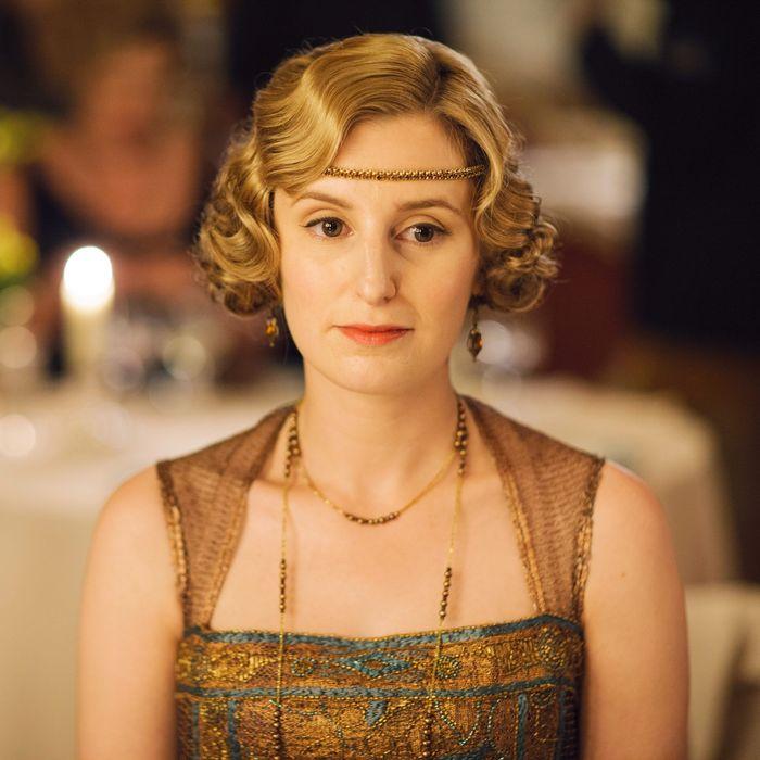 Laura Carmichael Lady Edith Downton Abbey (Credit: ITV)