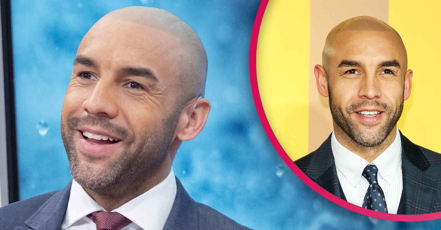 GMB star Alex Beresford shows off workout skills backstage at show