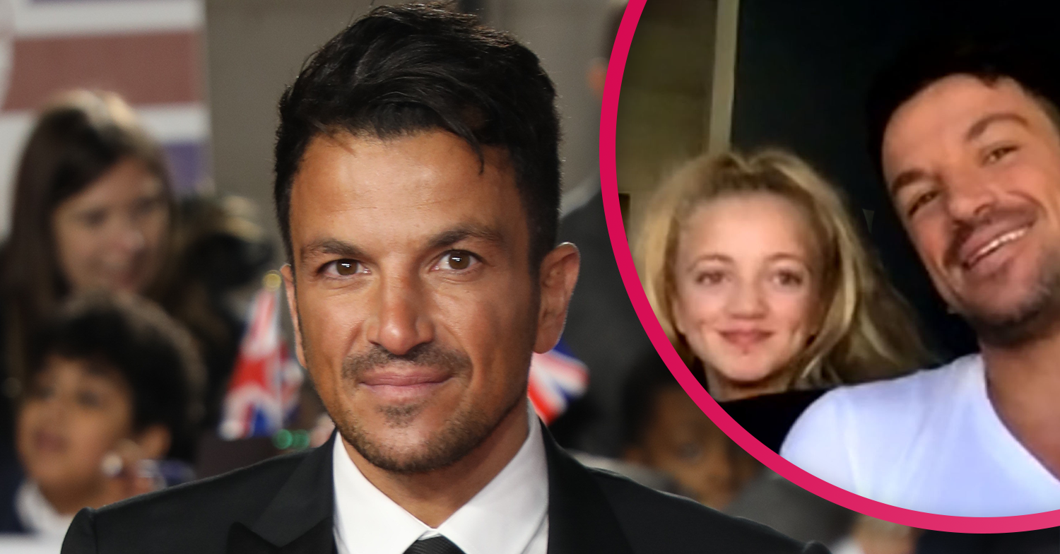 Katie Price's daughter Princess admits she wouldn't have any manners if it wasn't for dad Peter Andre