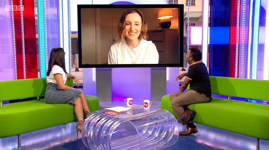 Laura Carmichael on The One Show