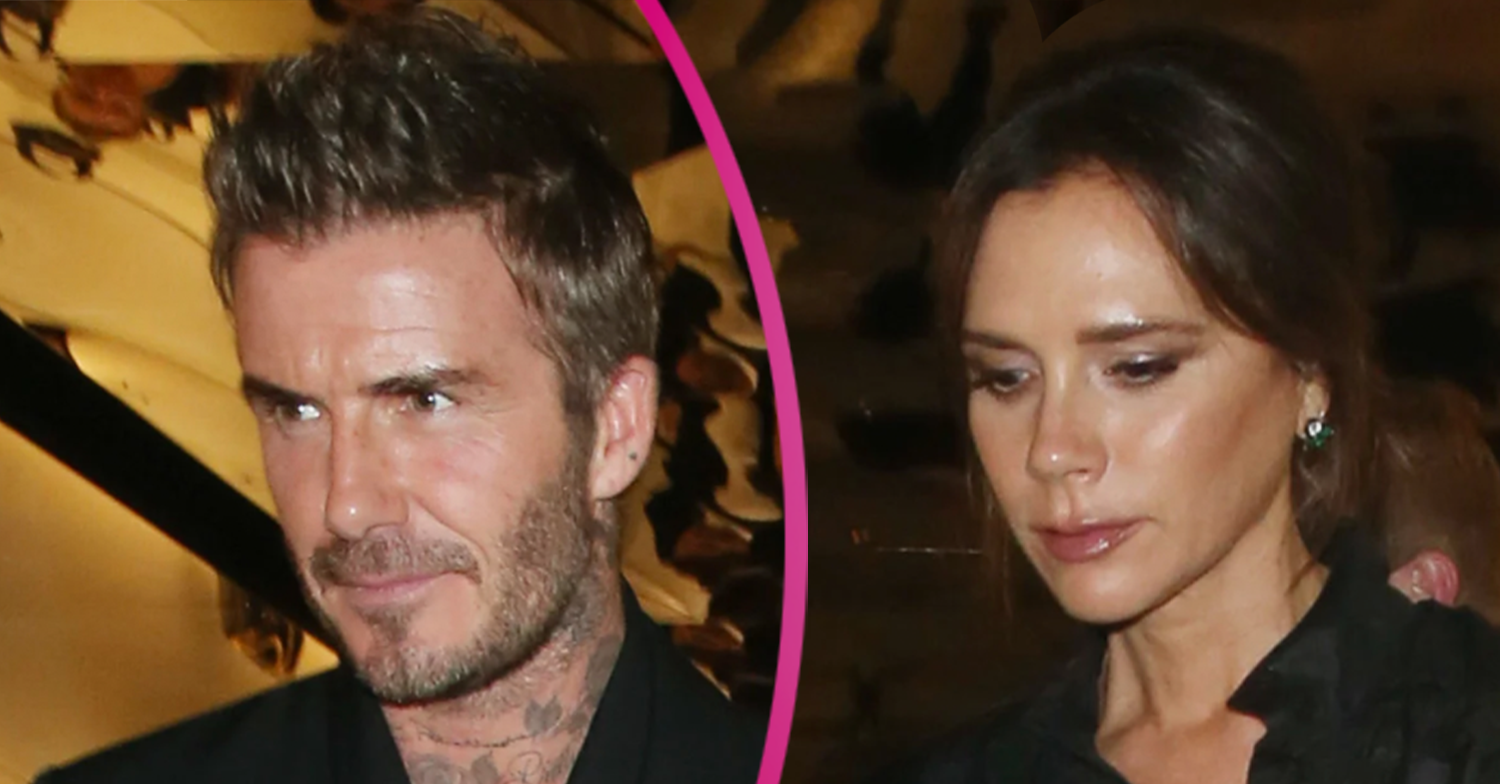 Victoria Beckham shares snap from romantic anniversary meal with husband David