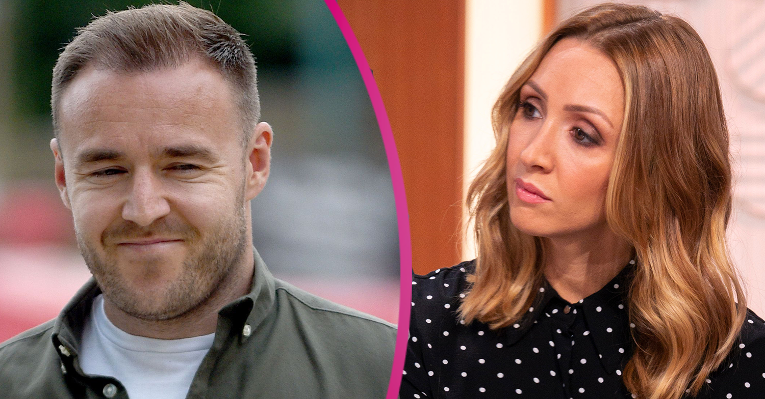 Corrie fave Alan Halsall only communicates with ex Lucy Jo Hudson about daughter Sienna