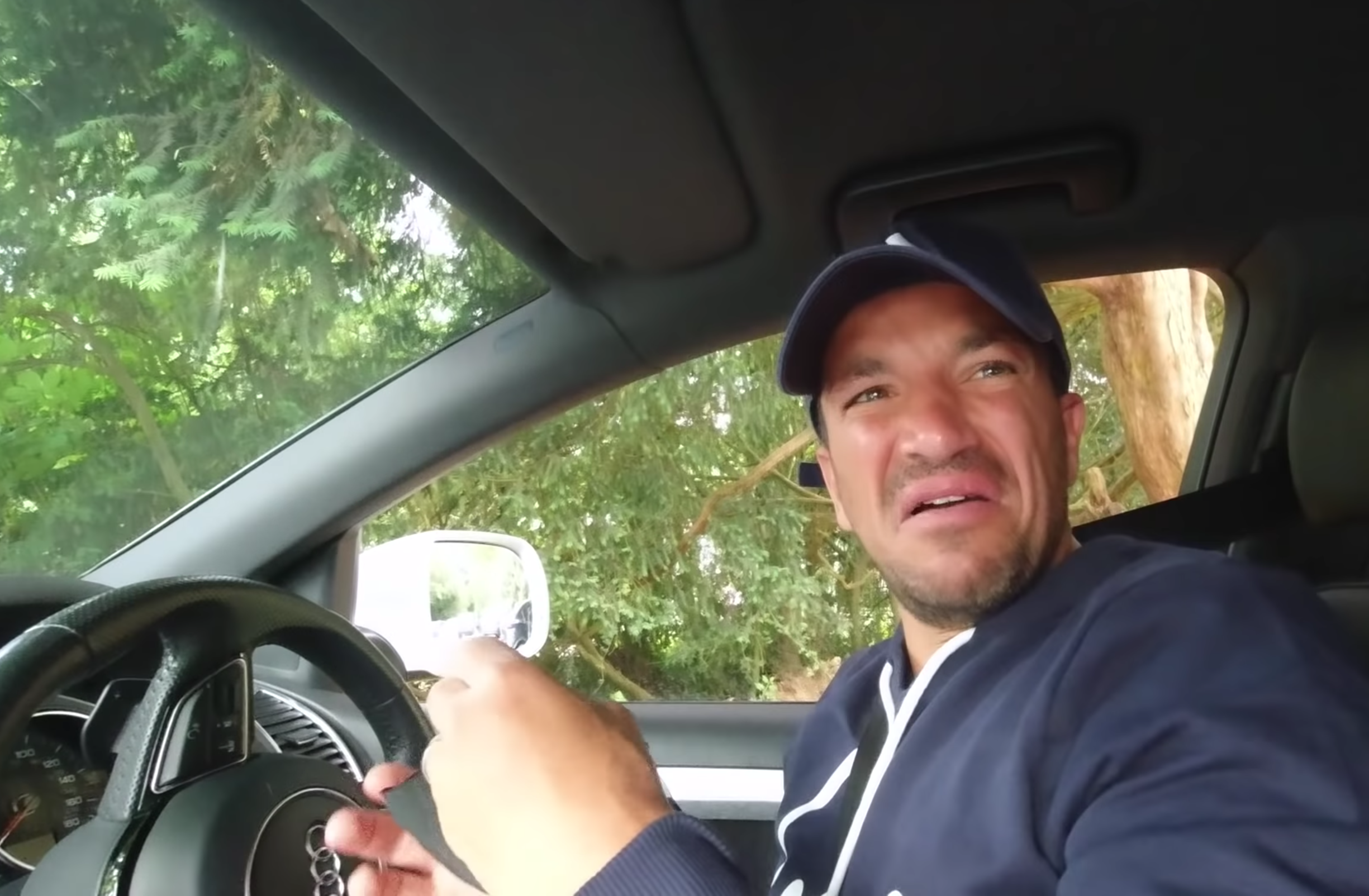 Peter Andre (YouTube/The Sun)