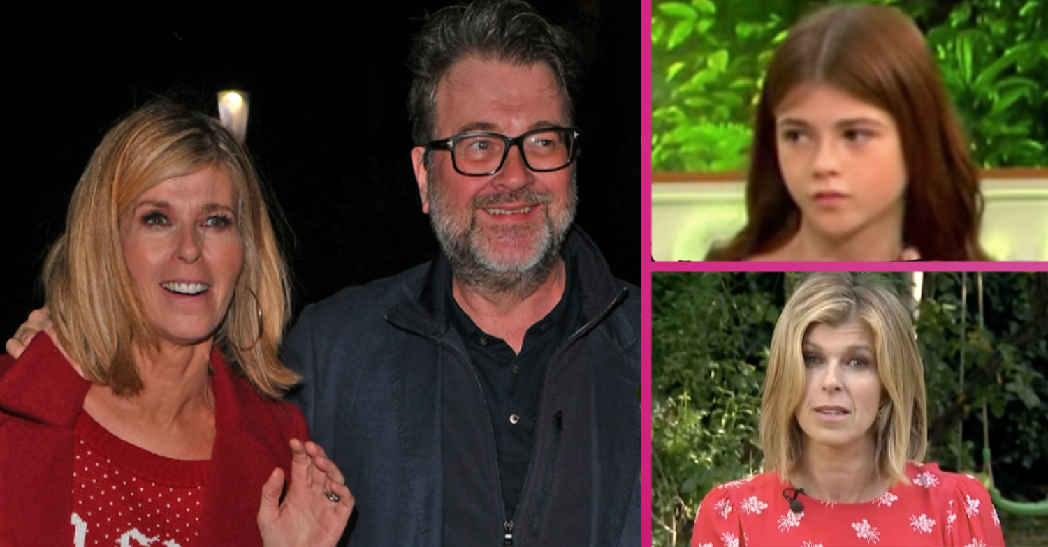 Kate Garraway shares daughter Darcey's sweet homecoming present for dad Derek