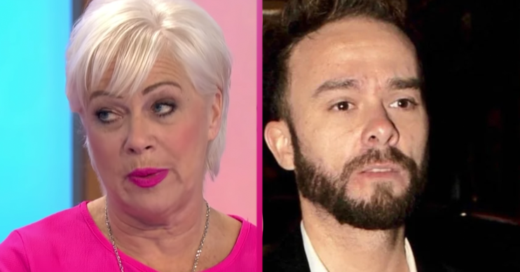 Denise Welch Jack P Shepherd (ITV/Splash)
