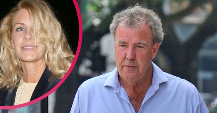 Lisa Hogan and Jeremy Clarkson