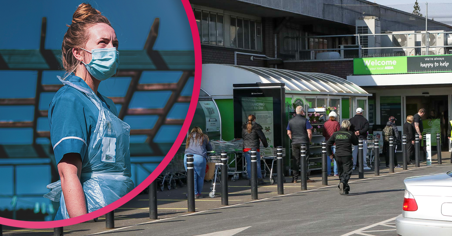 NHS worker slammed for continuing to use her staff pass to queue jump at supermarkets