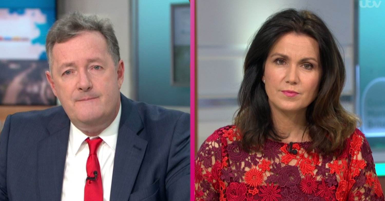 Piers Morgan and Susanna Reid step down from GMB as they confirm two month hiatus