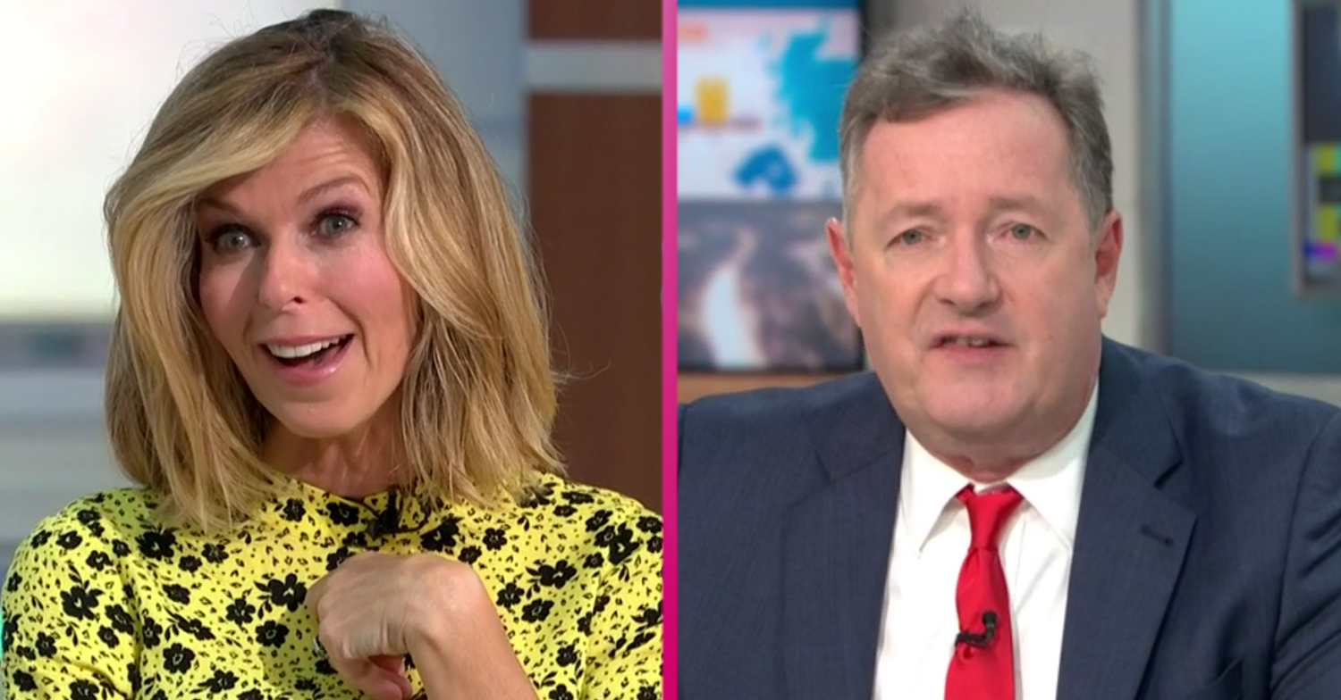 Kate Garraway confirms she is replacing Piers Morgan on GMB as she resumes presenting duties