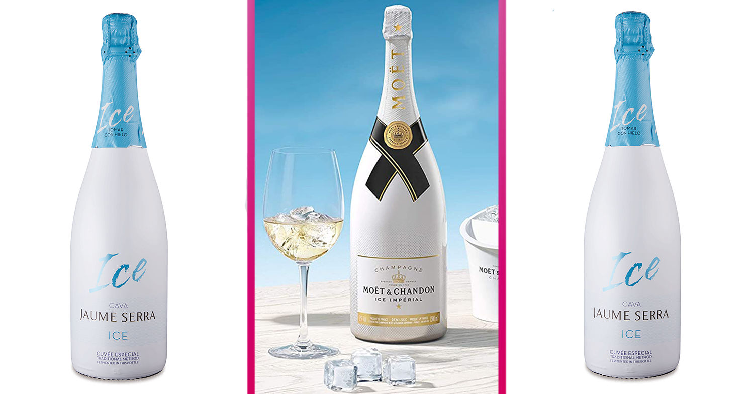 Aldi launches a bargain £7 dupe of Moët's £60 Ice Imperial Champagne