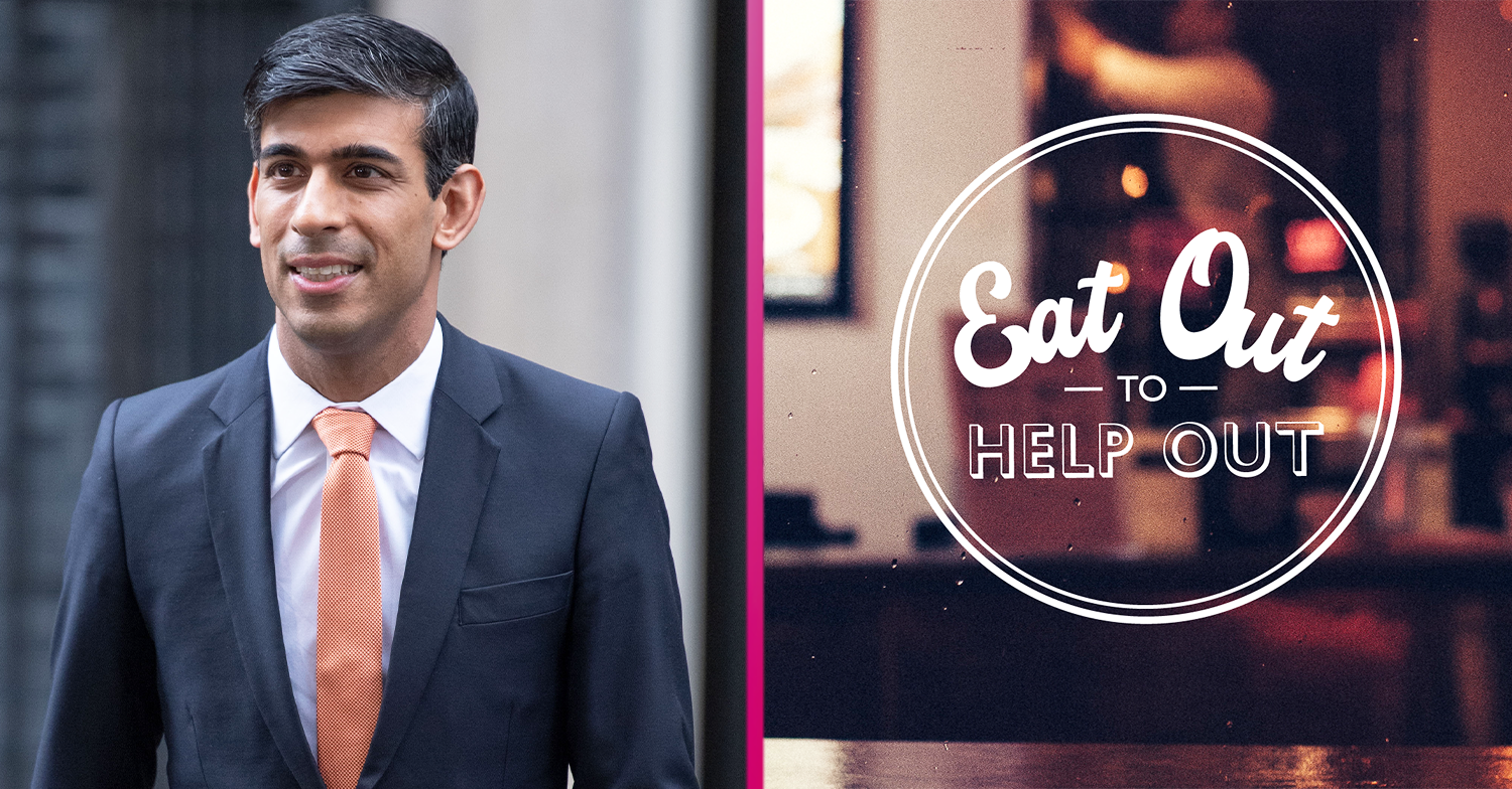 Rishi Sunak slammed as he announces 'eat out to help out' half-price meal scheme