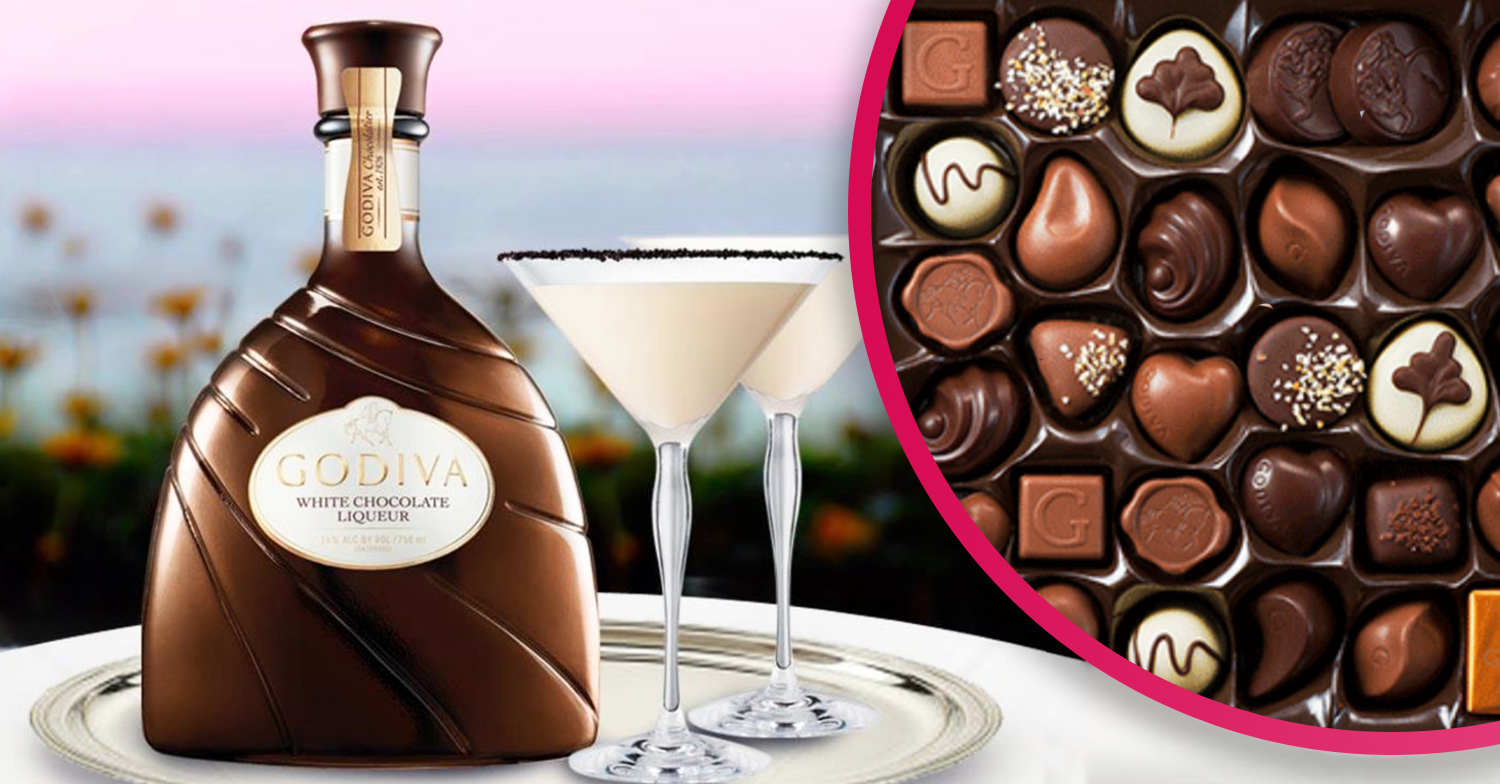 Godiva White Chocolate Liqueur lands in the UK and Brits are drooling
