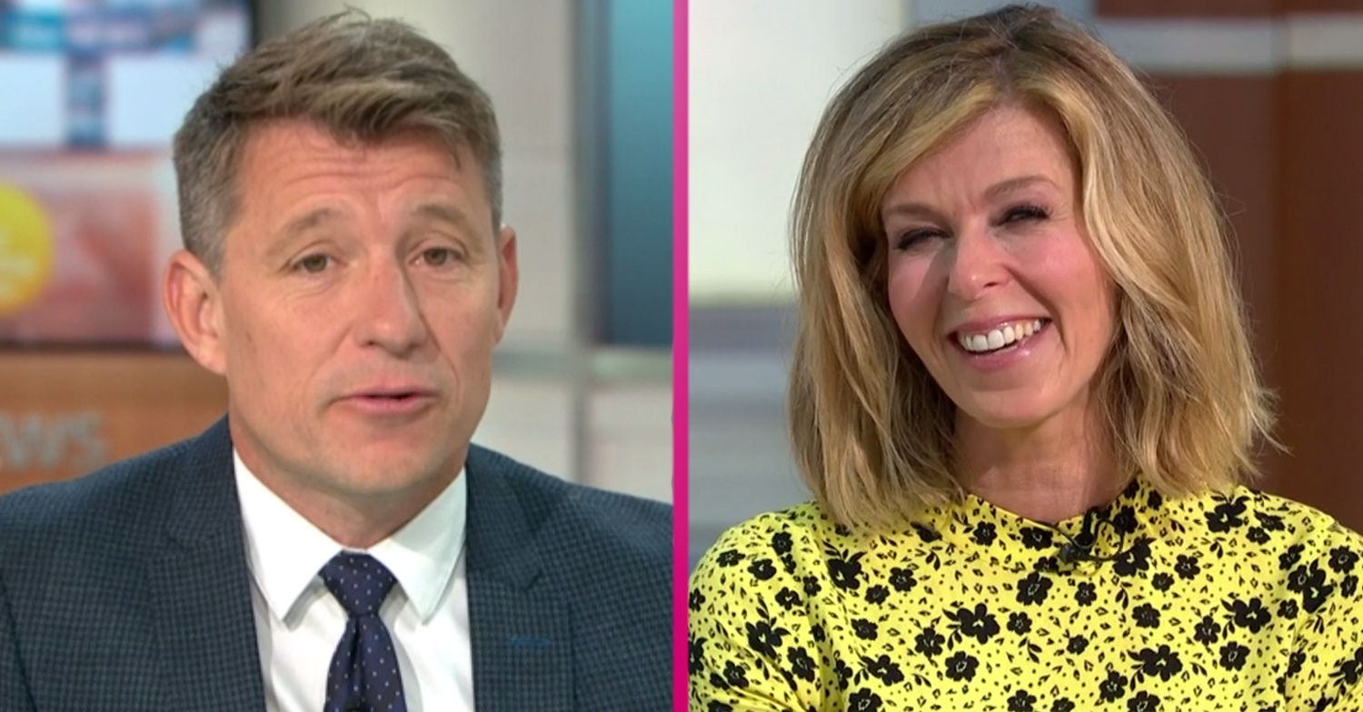 Proud Ben Shephard praises Kate Garraway for GMB return and says it'll benefit her mental health
