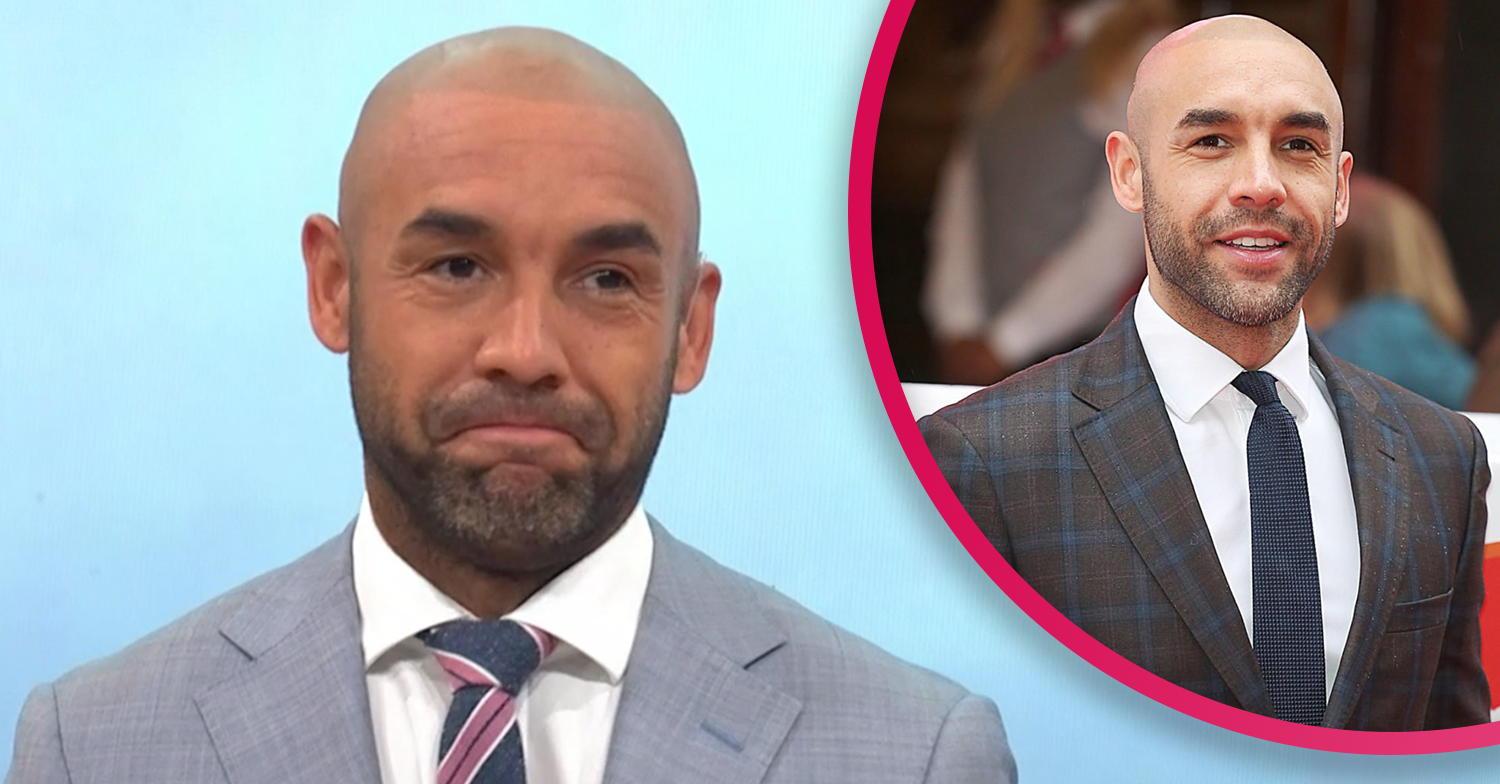 Alex Beresford returns to GMB studios for the first time since announcing split from wife Natalia