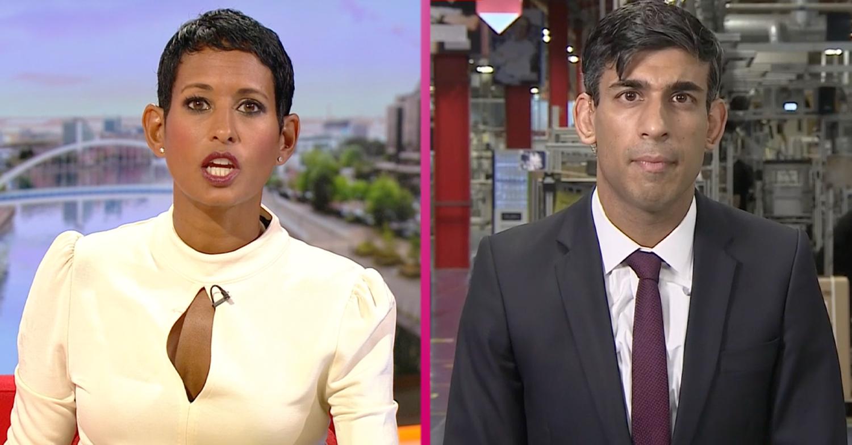 Rishi Sunak slammed over car crash interview with Naga Munchetty on BBC Breakfast