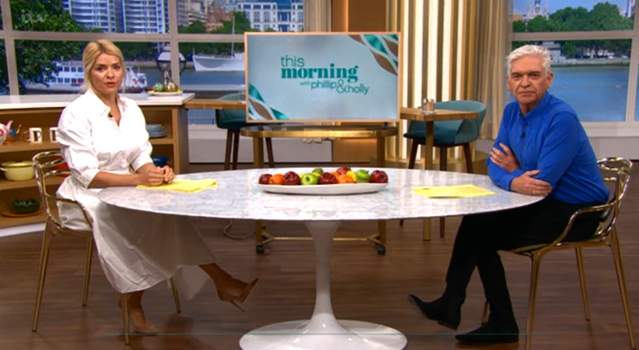 Holly and Phil This Morning Credit: ITV