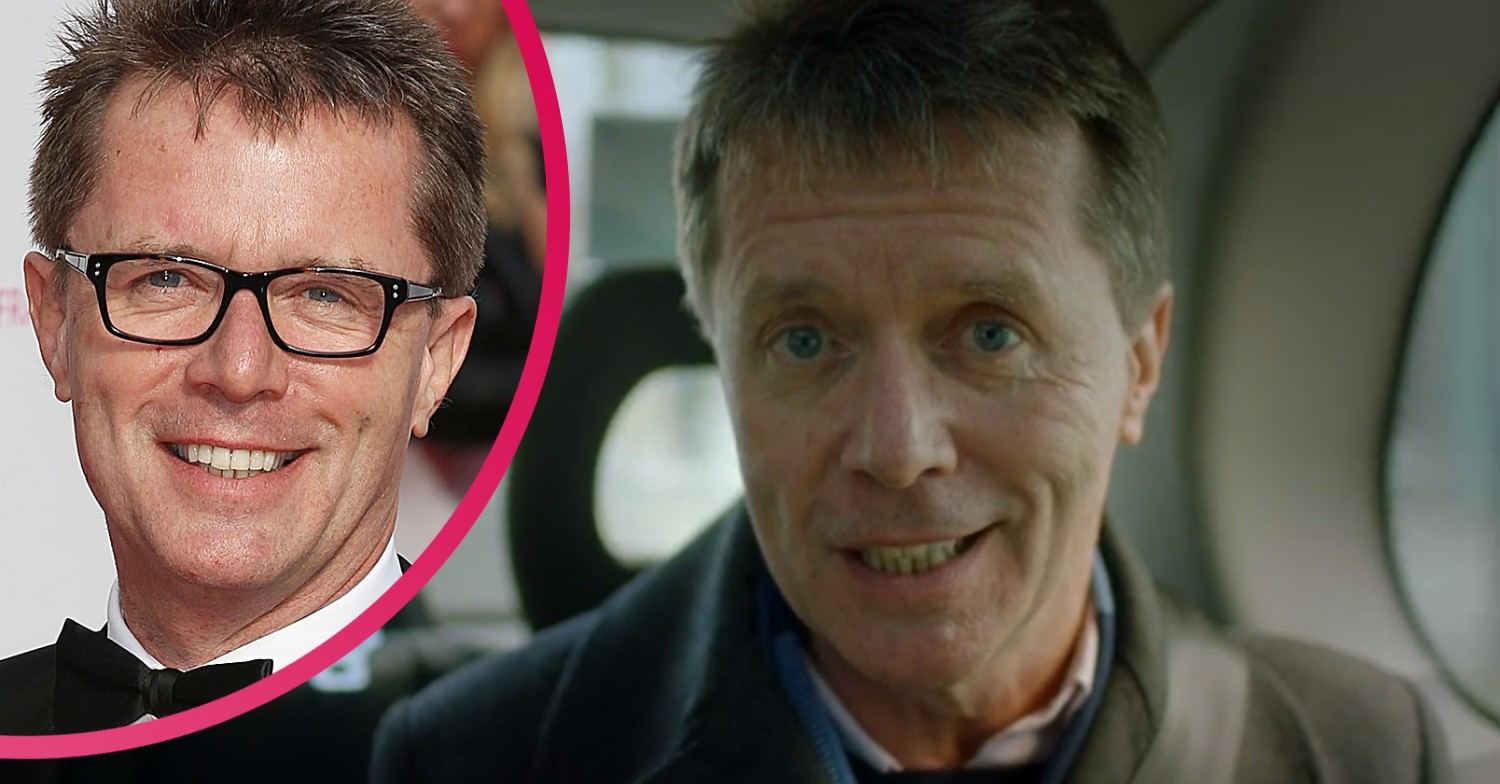 Nicky Campbell denies dyeing his hair in 'youthful' selfie