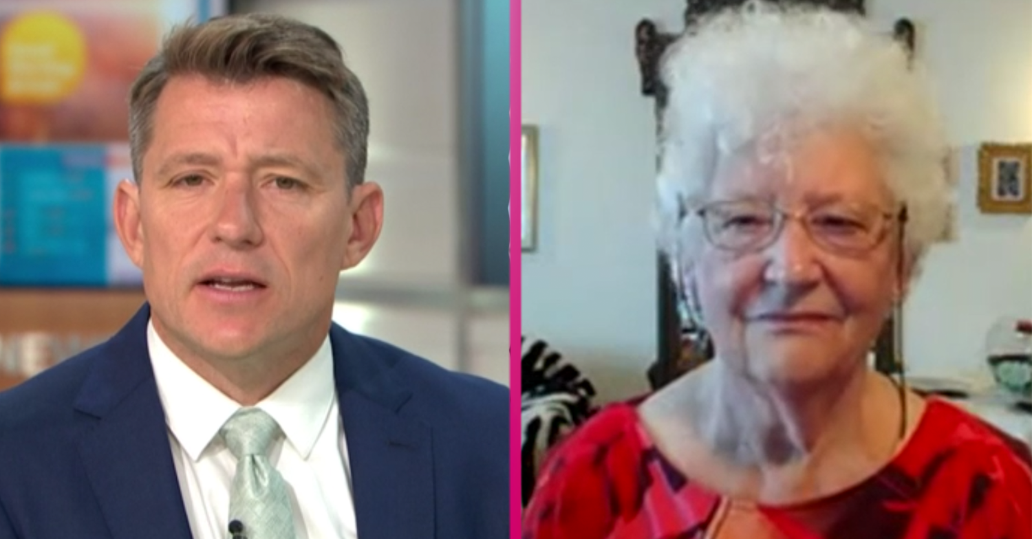 GMB fans fall in love with sassy pensioner Maureen after awkward moment with Ben Shephard