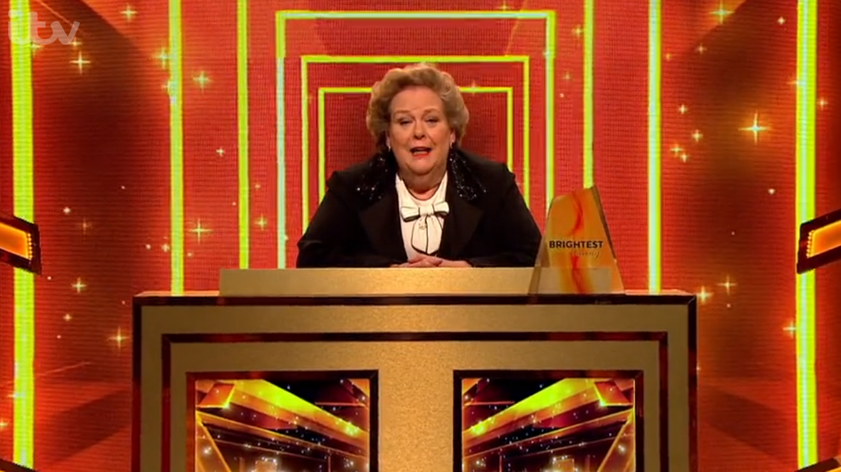 Anne Hegerty on Britain's Brightest family