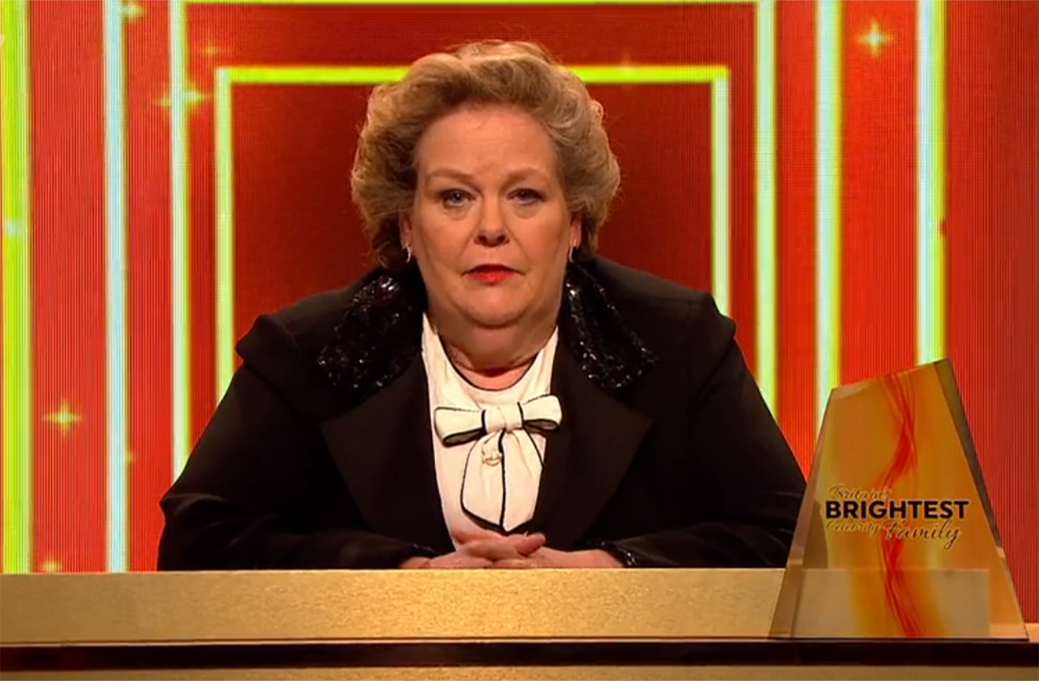 Anne Hegerty hits back as Britain's Brightest Celebrity Family viewer accuses show of being 'rigged'