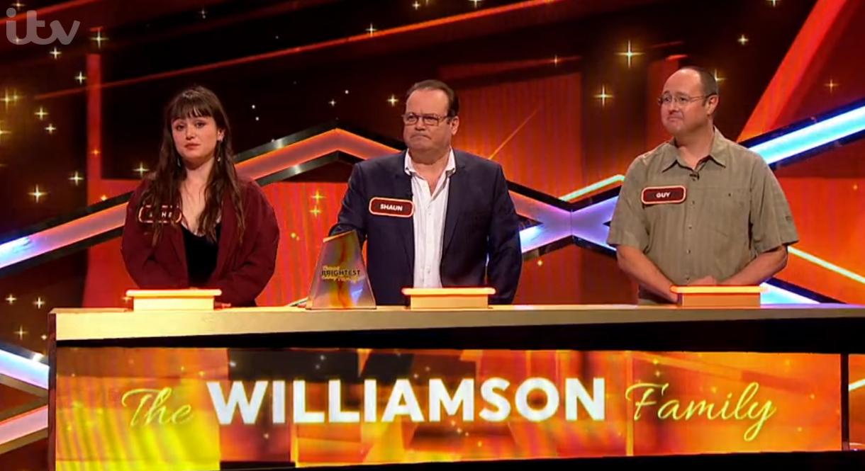 Shaun Williamson on Britain's Brightest Celebrity Family