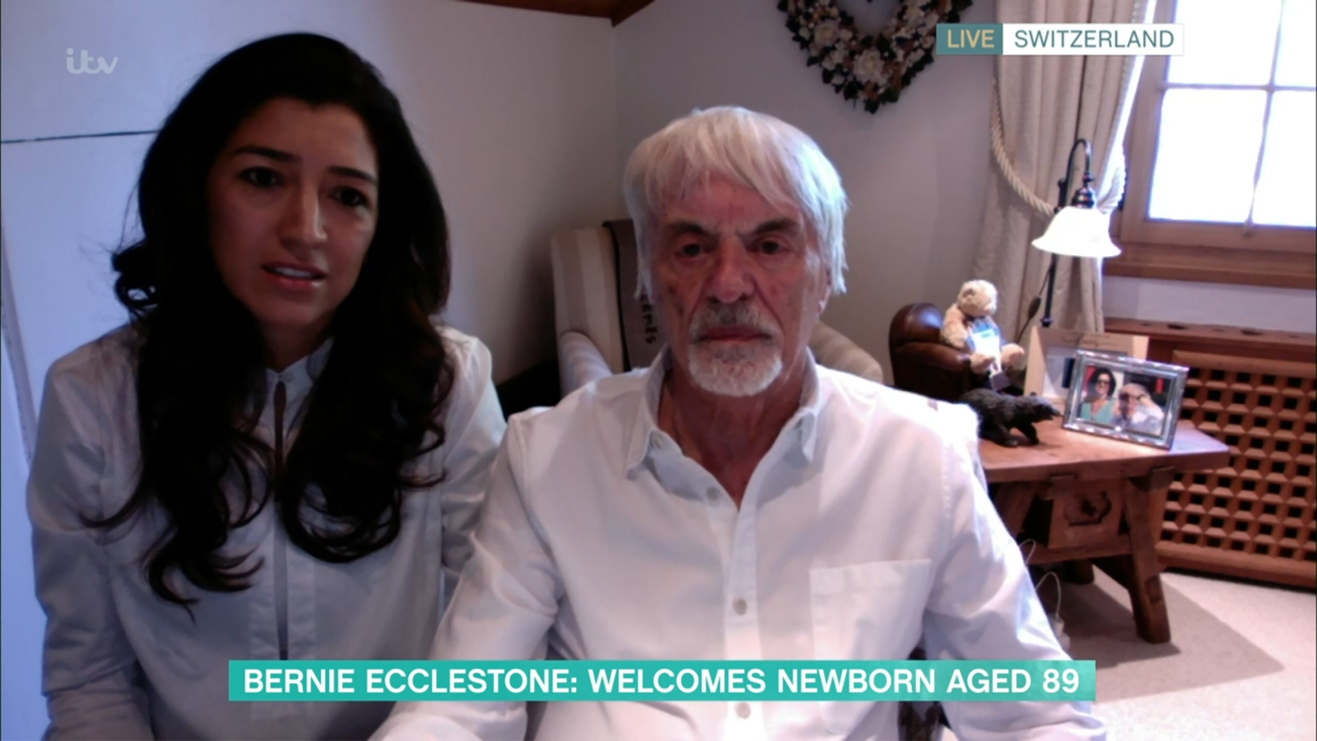 This Morning: Bernie Ecclestone causes outrage as he says he doesn't change nappies