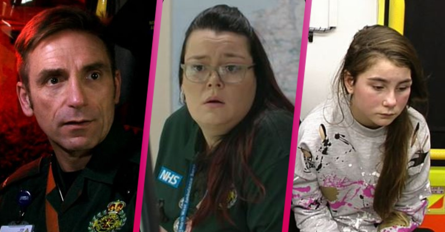 Ambulance: Viewers disgusted as paramedics help young girl punched on her doorstep