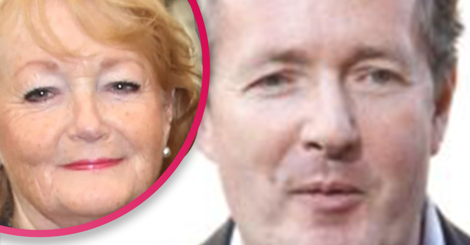 Piers Morgan reunited with his mum after 114 days