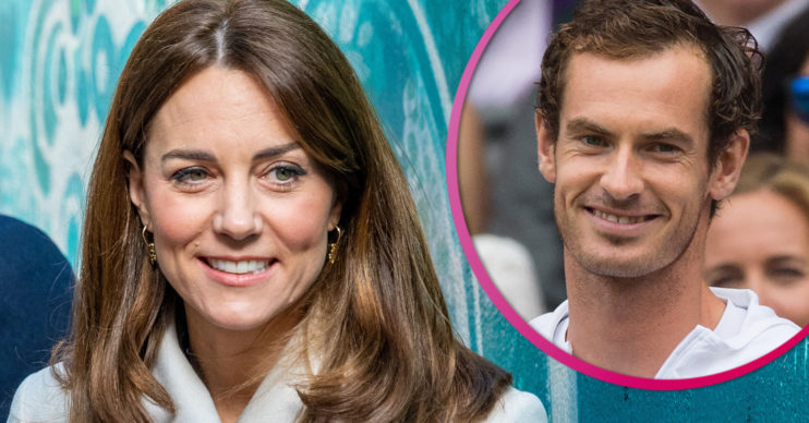 Kate Middleton and Andy Murray
