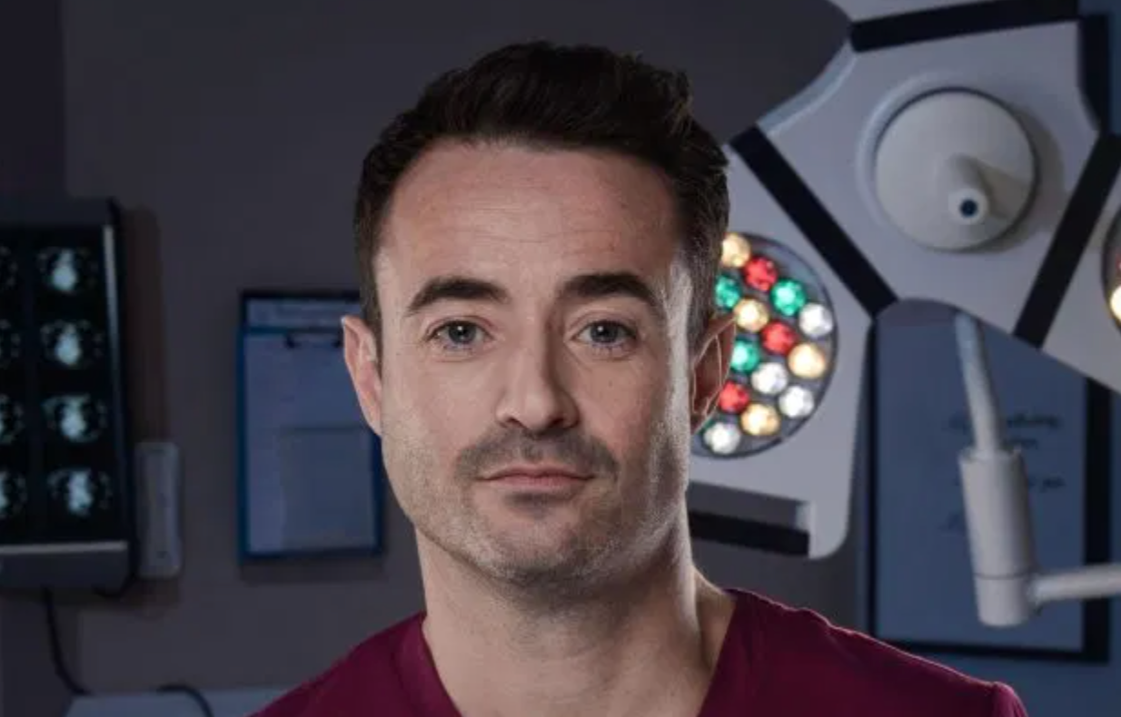 Joe McFadden Holby City