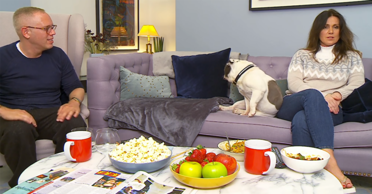 Susanna Reid on Celebrity gogglebox