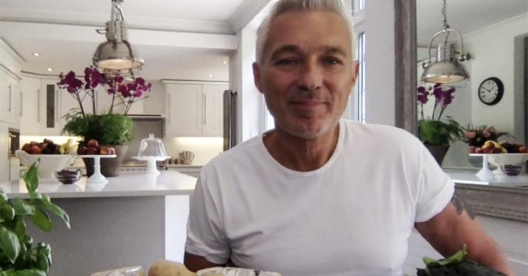 Martin Kemp on Saturday Kitchen