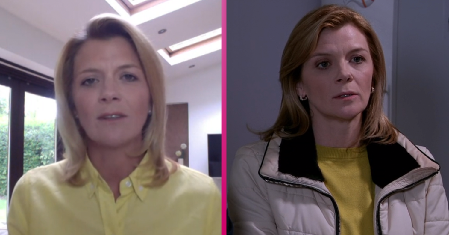 Coronation Street: Jane Danson sends message to real families going through Leanne ordeal