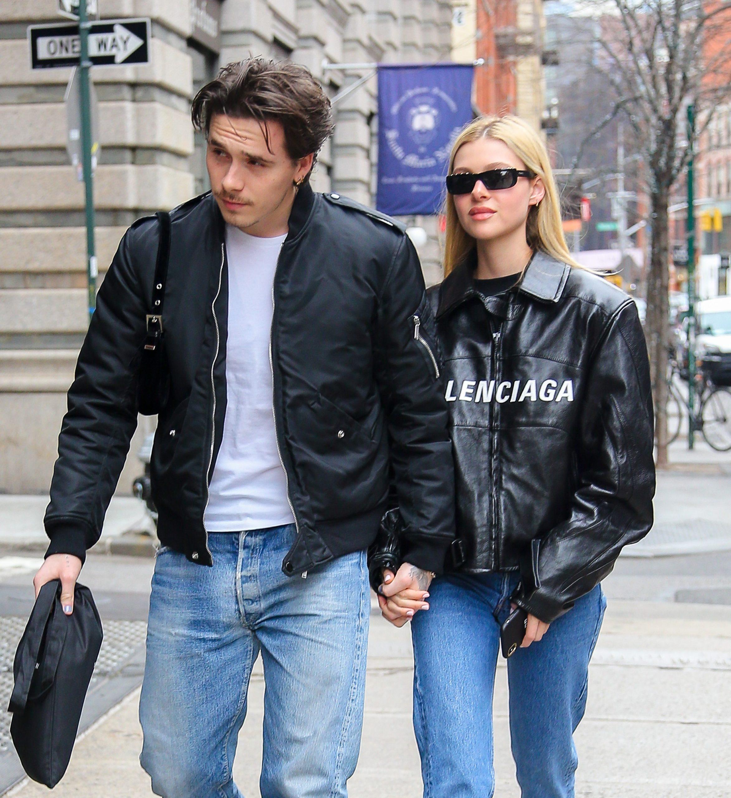 Brooklyn Beckham and Nicola Peltz are engaged