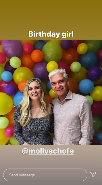 Phillip Schofield and daughter