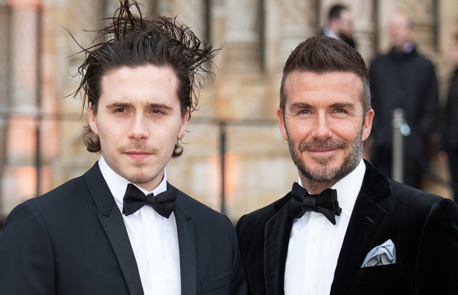 Beckham's son confirms engagement to actress Peltz