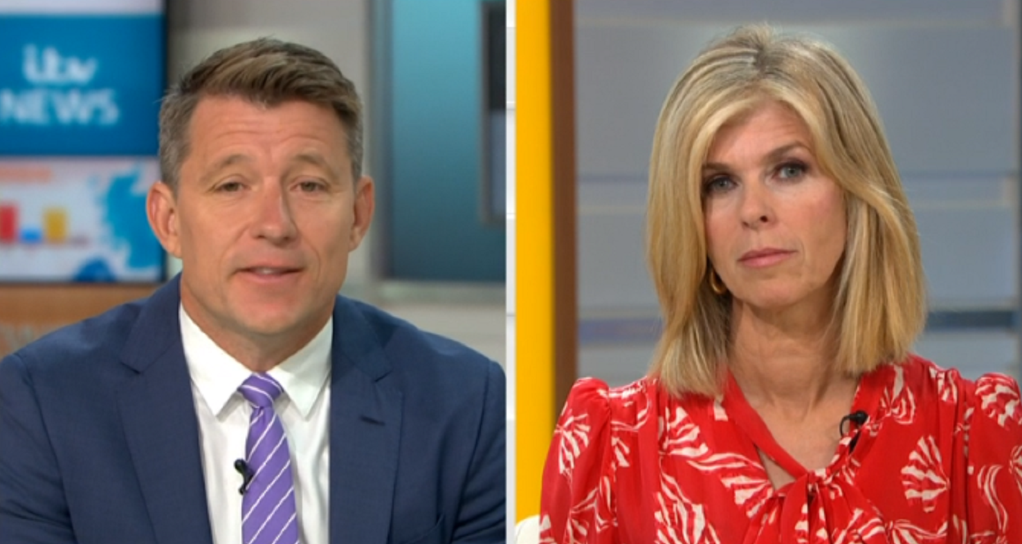 GMB: Kate Garraway suffers workplace disaster as she returns to presenting duties