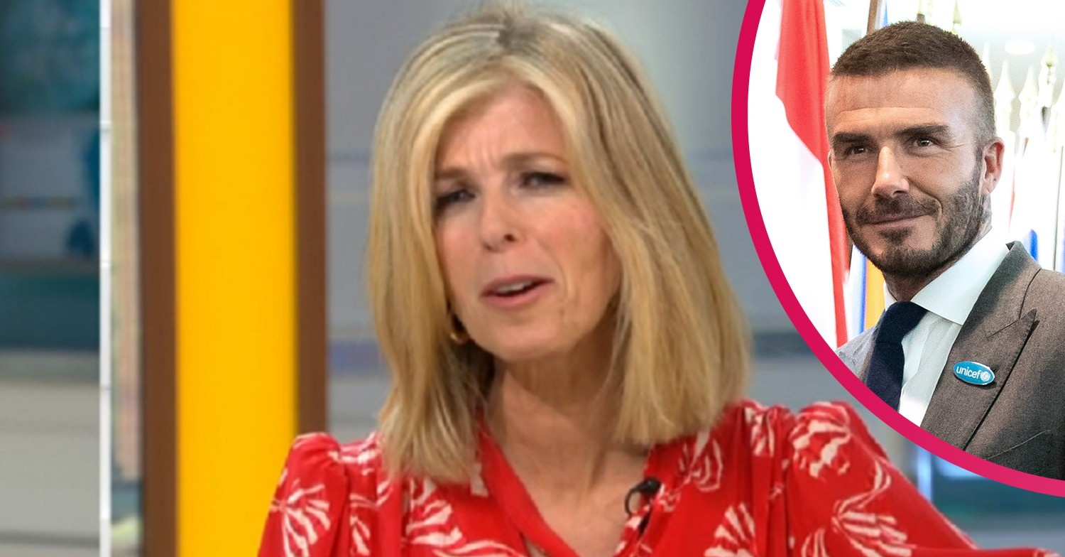 GMB's Kate Garraway reveals 'very sweet' message she received from David Beckham