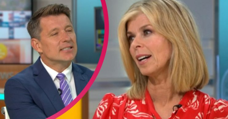 Ben Shephard and Kate Garraway on GMB